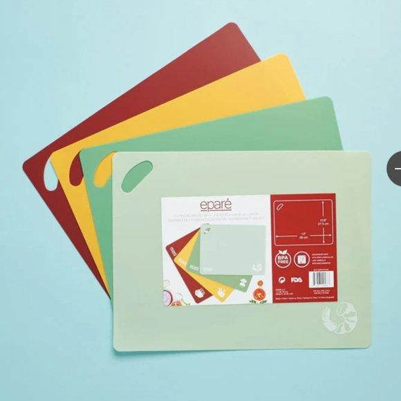Eparé® Cutting Board (Set of 4)